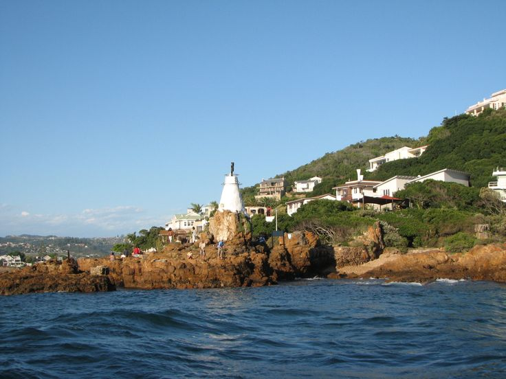 The Eastern Head lighthouse. Perfect place to snorkel & view the shipwreck