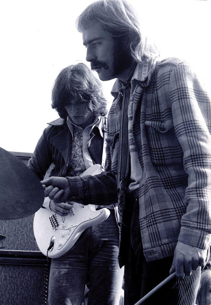 David Gilmore and Roy Harper 1968
