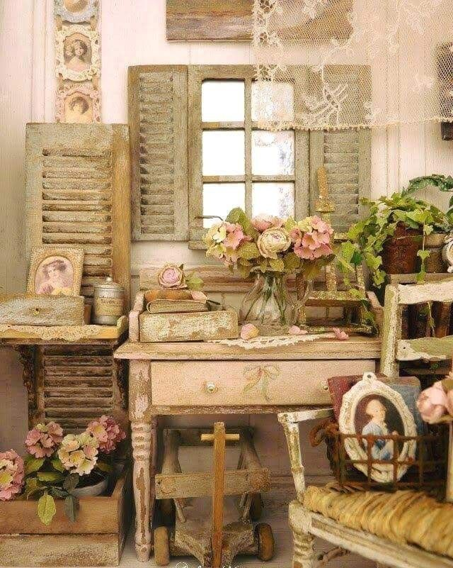 20 Easy & Gorgeous DIY shabby chic decor ideas for 2019 – Ethinify – Cindy Todd Mason