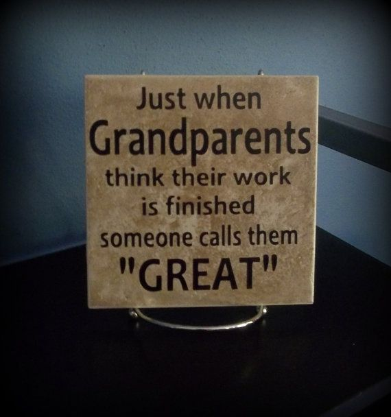 Great-Grandparents Decorative Tile by willowacres2010 on Etsy