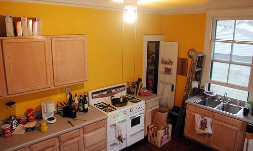 What are the best colors to paint a kitchen house idea book pinterest colors the o 39 jays - Best colors for small kitchens ...