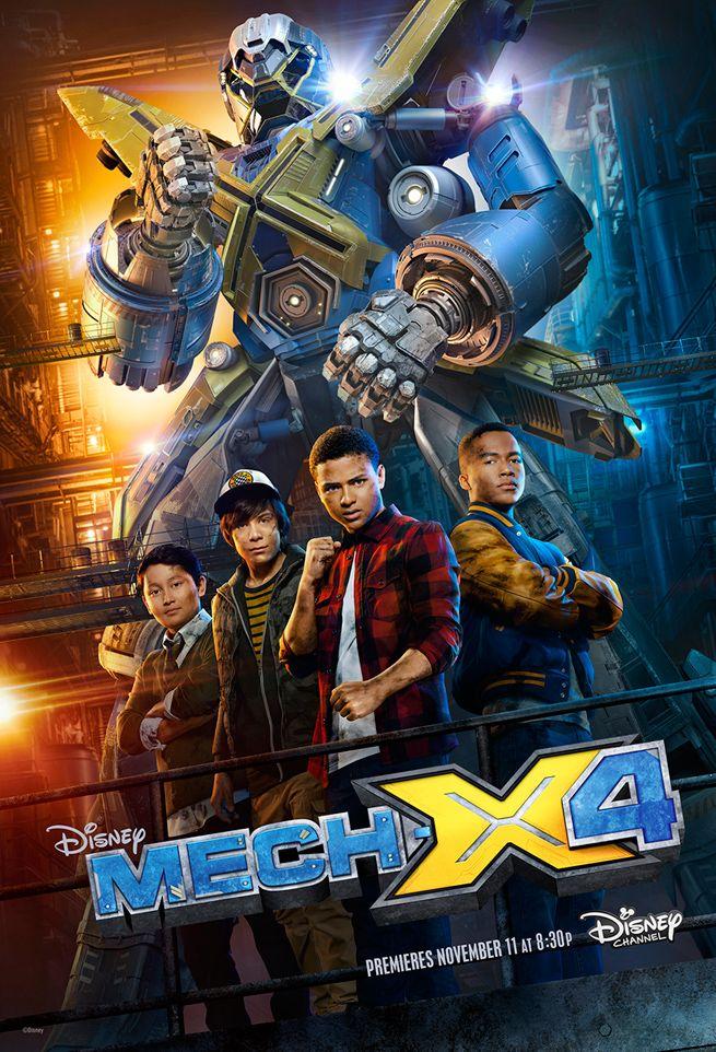 Exclusive Clip: Disney's MECH-X4 Brings Giant Robots to Live-Action TV
