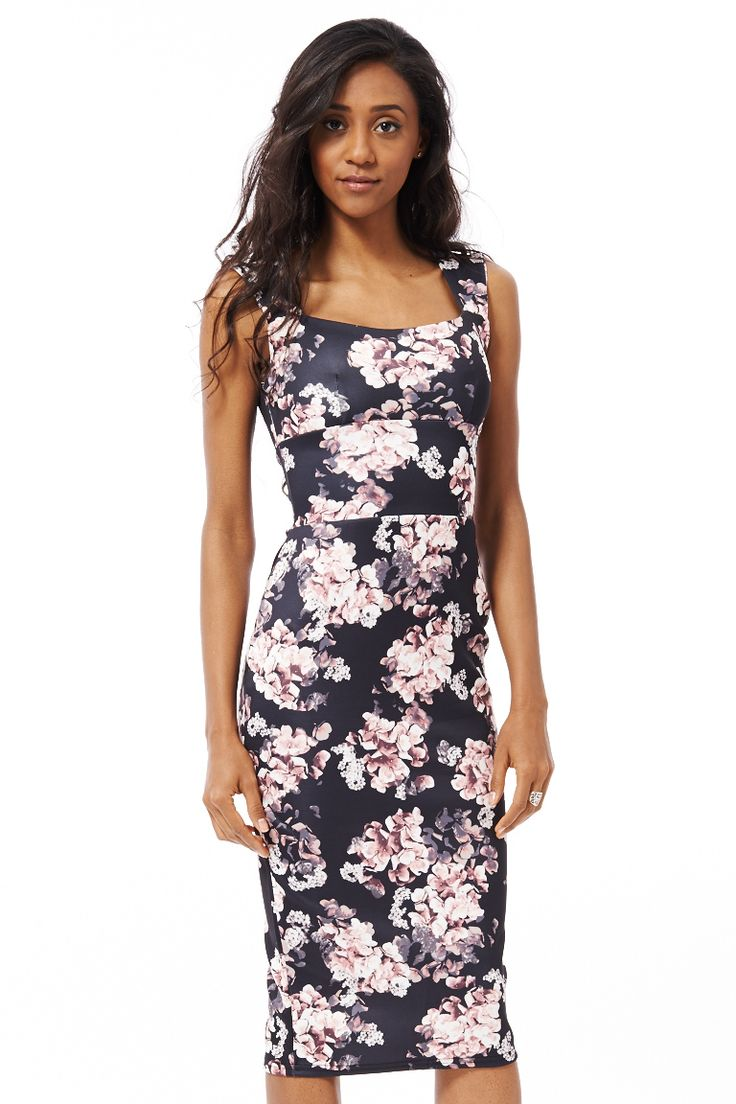 ScottyDirect - Elegant Floral Bodycon Dress, $45.95 (http://www.scottydirect.com/elegant-floral-bodycon-dress/)