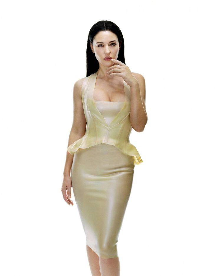 C is For Costumes - Monica Bellucci as Persephone in Matrix Reloaded