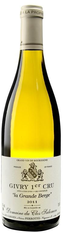 "MyGoodWines - Givry 1er cru ""La Grande Berge"" Clos Salomon - Vin de Bourgogne"