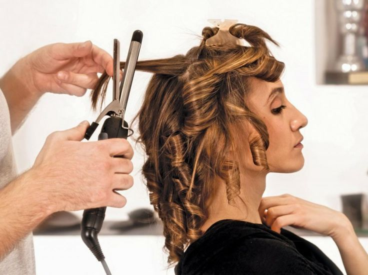 See How you can iron your Curly hairs