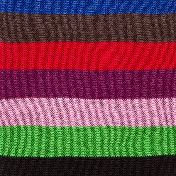 Men's Black Multi-Coloured Stripe Odd Socks