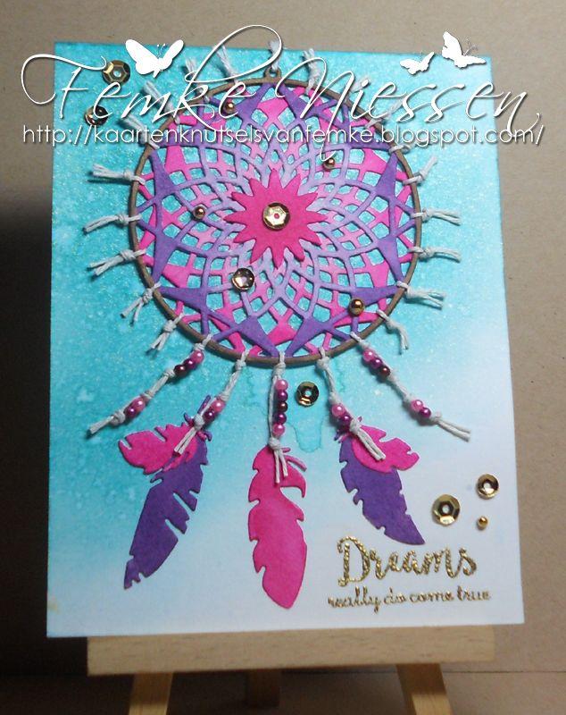 kaartenknutsels van femke: Designer of the month #2 MD Dreams really do come true.