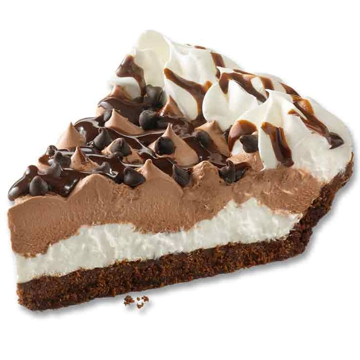 Chocolate lovers will want another slice of our HERSHEY'S® Chocolate Crème pie. Made with real HERSHEY'S® Chocolate from the crust to the drizzle.