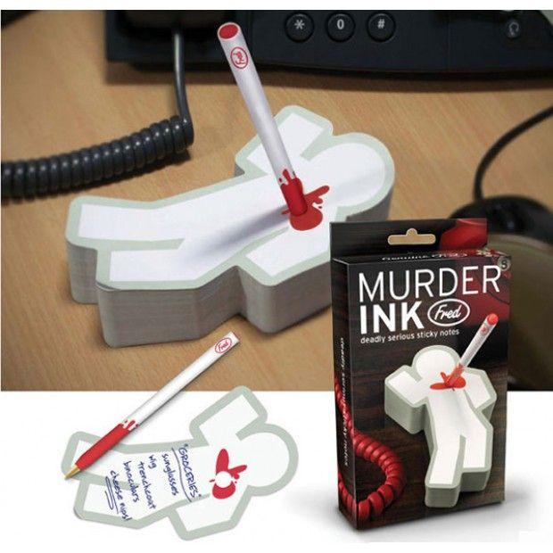 Taco papel Murder Ink