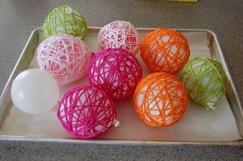 Bolas lindas feitas de fio de crochet! | Artesanato & Humor de Mulher