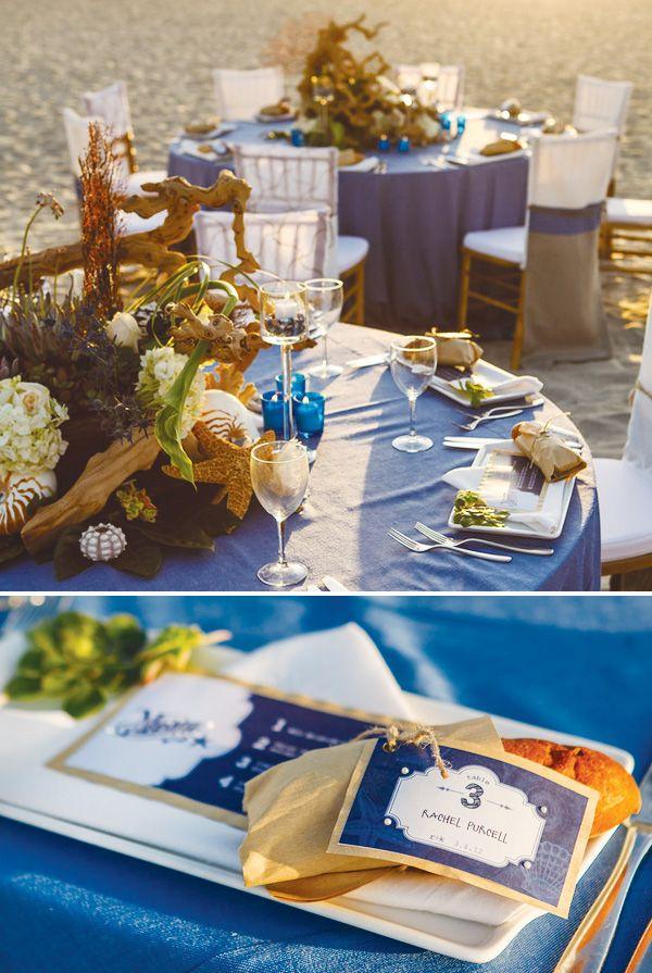 AMAZING coastal wedding: Beaches Wedding Tables, Beachi Theme, Beaches Beats, Beach Wedding Tables, Beaches Inspiration, Tables Centerpieces, Weddings Beaches, Beach Weddings, Dreamy Beaches