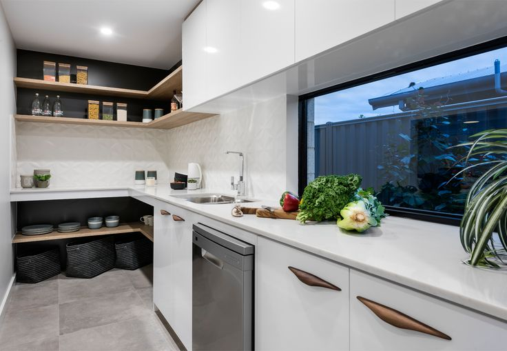 Home Builders Australia | Scullery | Kitchen | Display Home | New Homes | Interior Design | Home Inspiration | Styling |