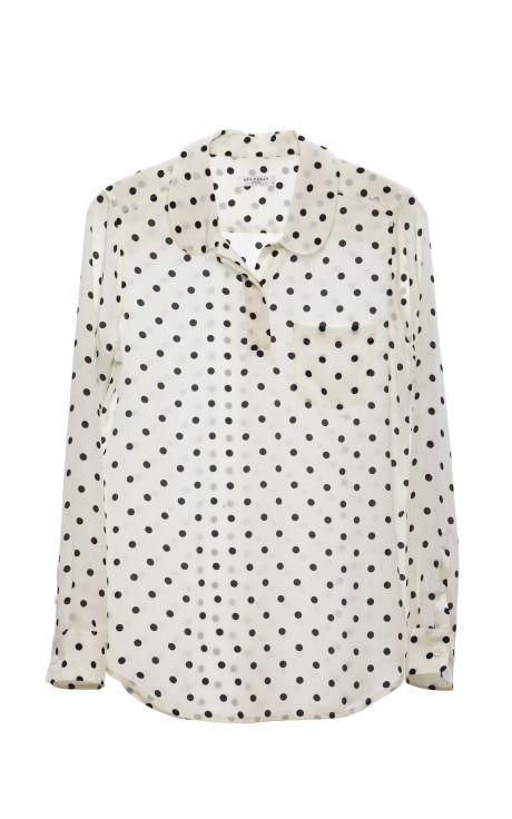 Equipment- Adele blouse: Bright Black, Polka Dots, Equipment Adele, Equipment Blouses, Avery Blouses, Adele Blouses, Dots Blouse, Nice Blouses, Adele Shirts