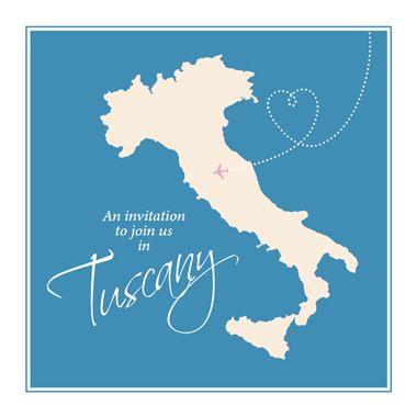 Italian wedding invitations for destination weddings