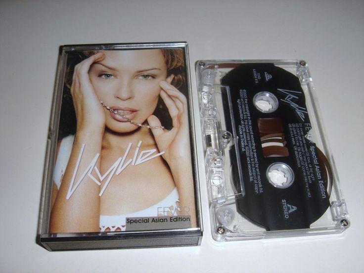KYLIE MINOGUE FEVER Cassette Tape