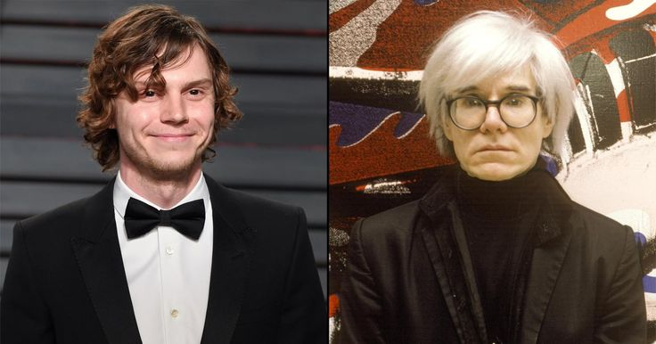Well that's shockingly good. American Horror Story co-creator Ryan Murphy unveiled the first image of AHS: Cult star Evan Peters as Andy Warhol. Peters will play Warhol and many other cult le…
