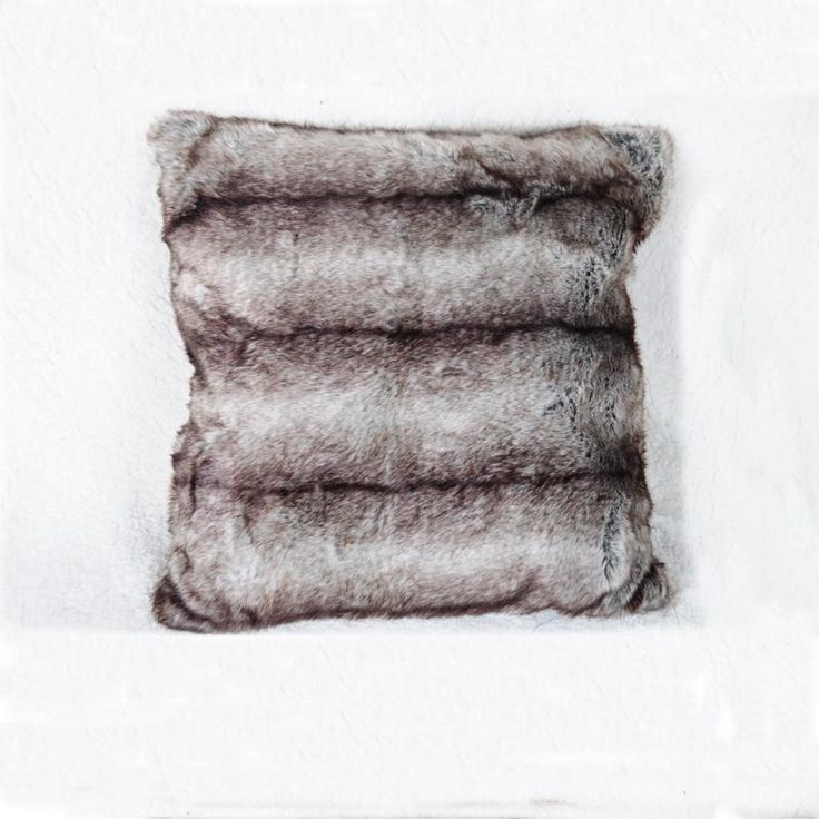 Larina Faux Fur Cushion - Pin for Inspo!