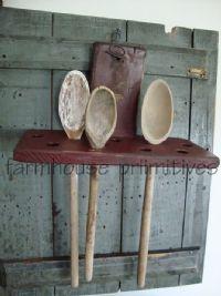 Early spoon rack