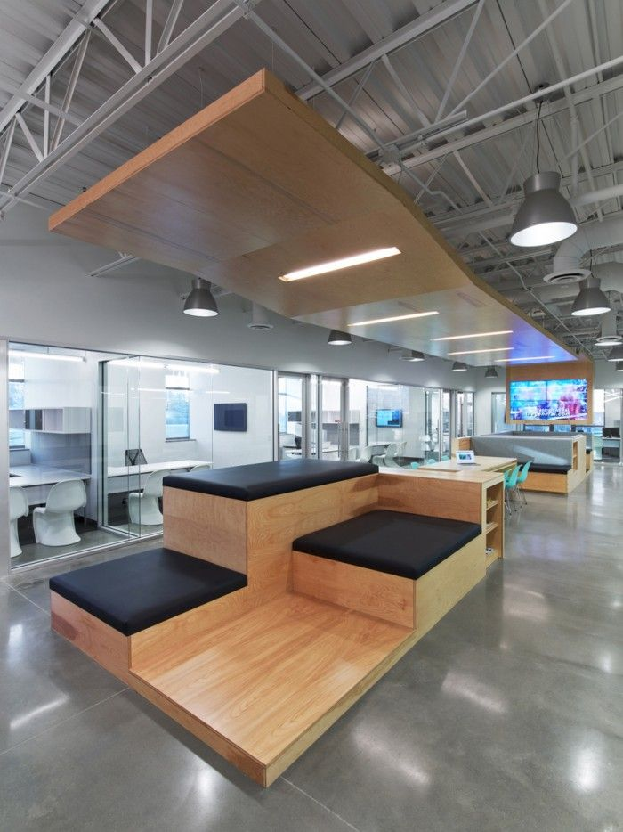 741 best images about office space on pinterest for Corporate office interiors