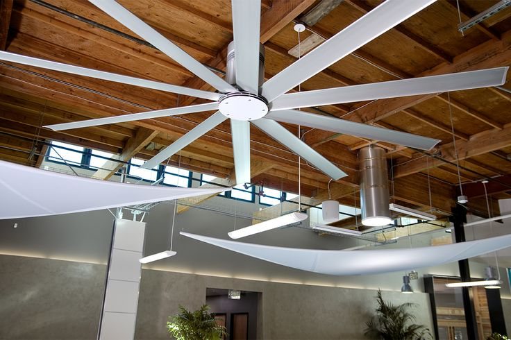 DPR Construction San Diego became the first commercial office in San Diego to achieve both net-zero status and LEED Platinum for New Construction. Energy-efficient Big Ass Fans contributed to energy optimization and thermal comfort requirements.