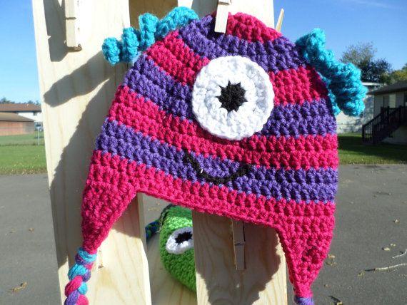 12 mejores imágenes de Crochet en Pinterest | Monstruos, Sombrero ...