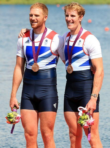 Team GB's George Nash and William Satch win bronze in the final of the Men's Pairs event.