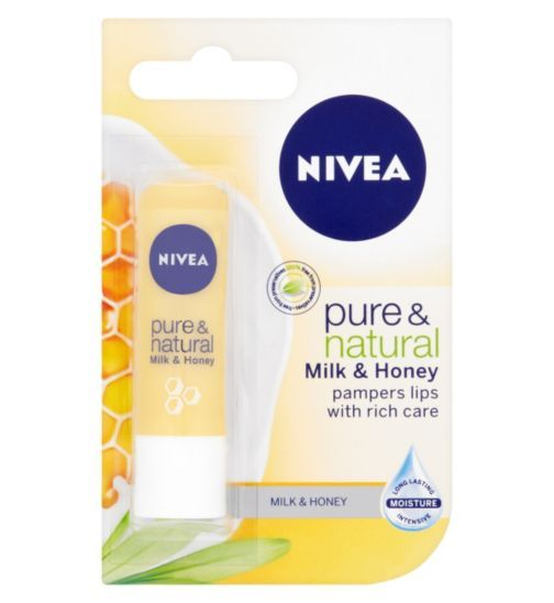 Nivea Pure and Natural Lip Care - Boots
