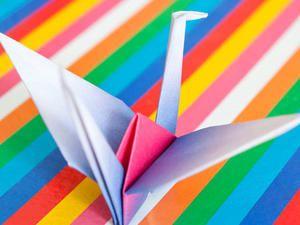Origami-Kranich falten - so geht's