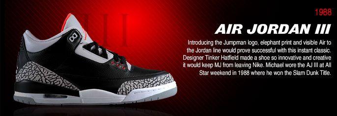 History of Air Jordan 3