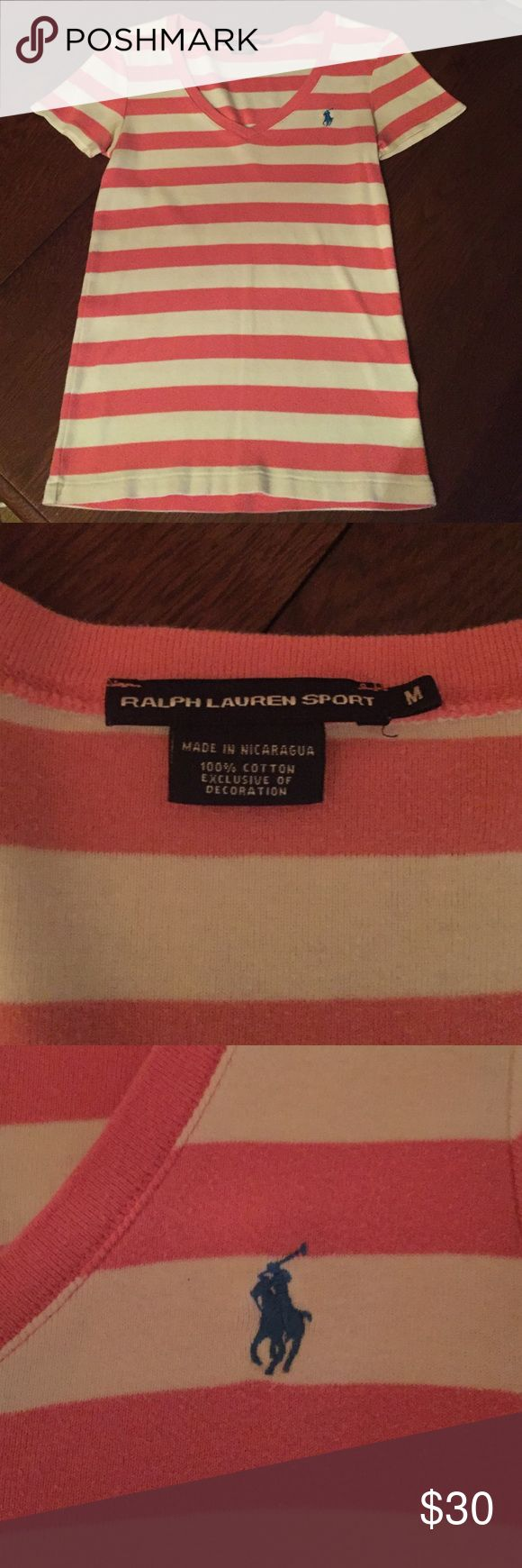Ralph Laurn Sport Gentle used, but no picks or stains. Comes from a smoke free, animal free house! In you would like more information on this top please feel free to leave a comment! Ralph Lauren Tops Tees - Short Sleeve
