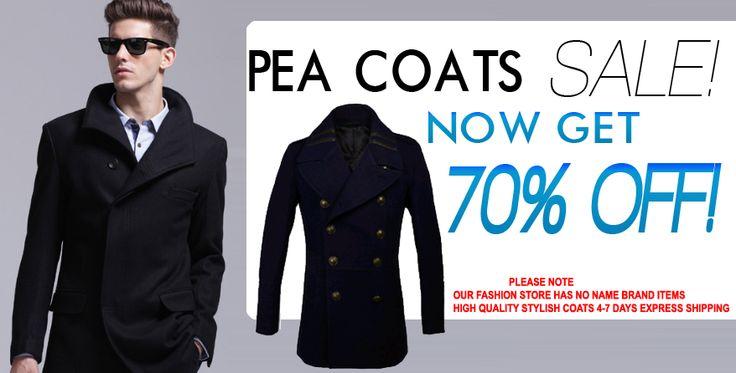 Pea Coats: Shop Pea Coats cheap