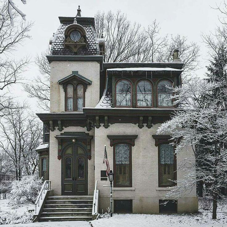 The Benton House Irvington Indiana Victorian Houses Pinterest