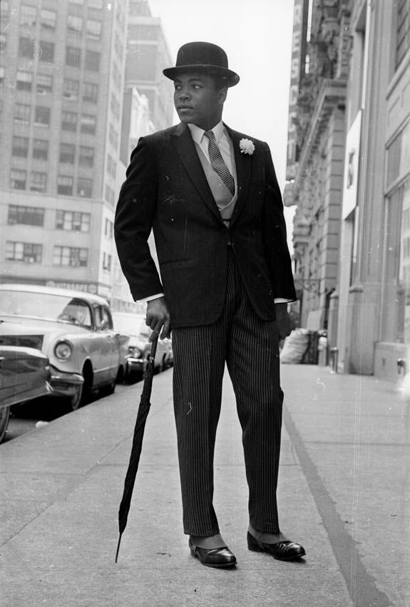 Muhammad Ali looking dandy. (26th May 1963)