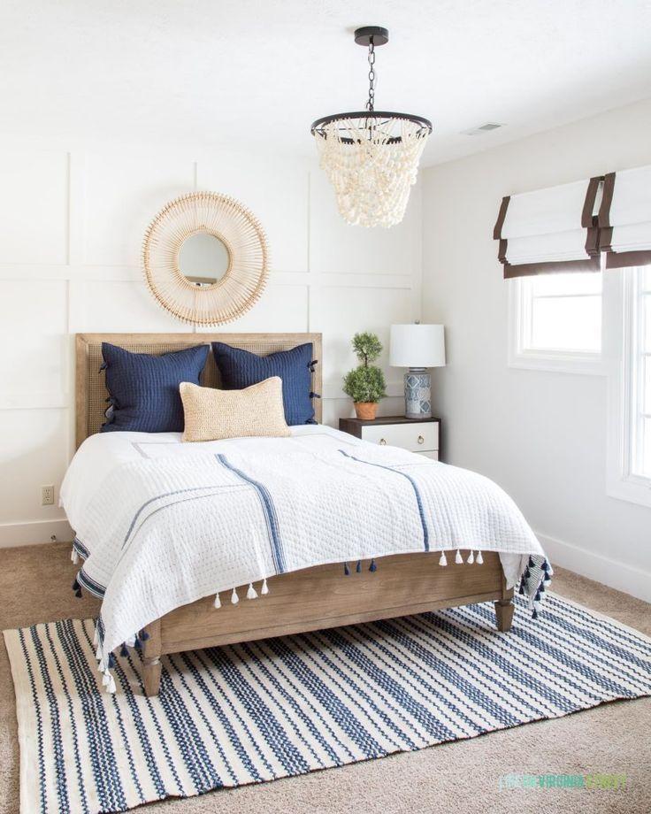 Guest Bedroom Spring Refresh Guest Bedroom Bedroom Decor White