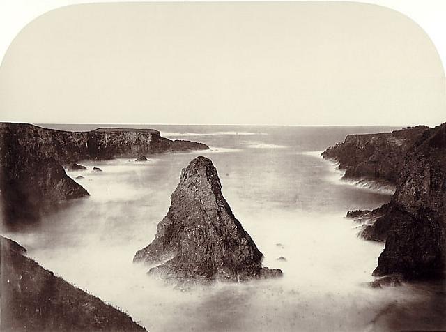 Carleton Watkins, Coast View, No. 1, 1863
