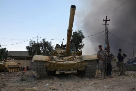 How ISIS Prepares For War: In Mosul, Islamic State Has A Moat, Bombs, Exploding Oil Trucks And Other Tricks To Stop Iraqi Military