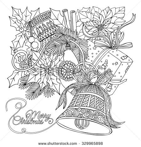 Christmasdesign Coloring Pages
