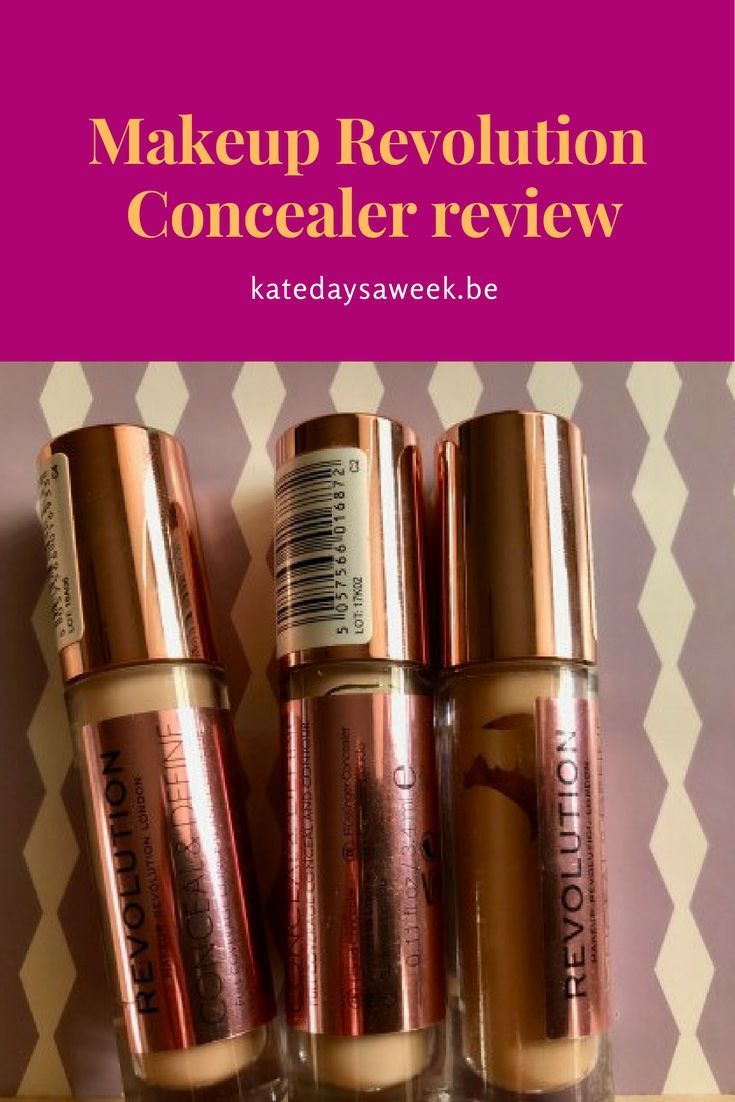Makeup Revolution Concealer ausblenden und definieren, Tarte Shape Tape Dupe, Mak …   – Make UP