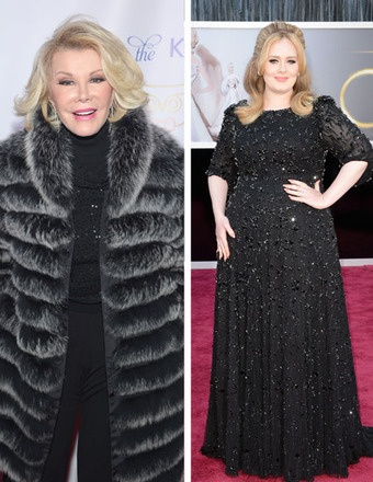 Joan Rivers Slams Adele: Shes a Chubby Lady Whos Very, Very Rich