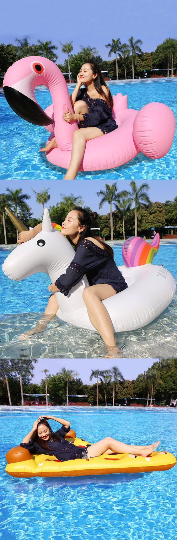 M s de 25 ideas incre bles sobre flotadores piscina en - Flotadores gigantes ...
