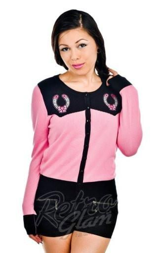 Banjo and Cake Horseshoes Embroidered Cardi $32.00 CAD from $48.00 CAD SALE