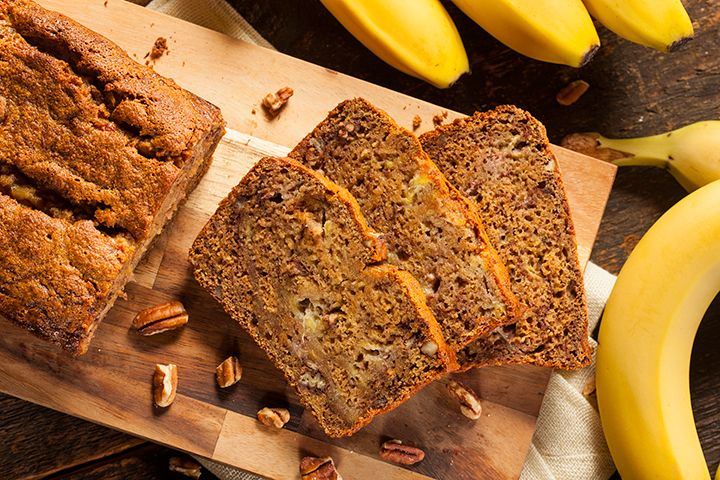 Dr. Mark Hyman's Banana Nut Bread: Enjoy this no-sugar-added banana nut bread for breakfast or as a snack.