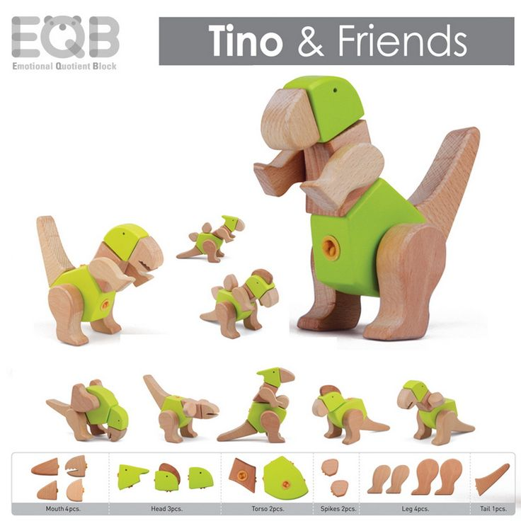 EQB Dino Series - Tino and Friends - Tumble & Roll Educational Toys. The EQB Dino Series kit will provide kids with endless hours of fun! Recommended for ages 3+. $36.00 #educationaltoys #transformationaltoys #kids #toys