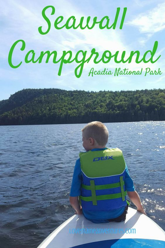 CAmpground, Acadia, Maine, Camping with Kids, where to camp in Acadia, where to camp in Maine, campsites in Maine, campsites, tenting, adventures (scheduled via http://www.tailwindapp.com?utm_source=pinterest&utm_medium=twpin)