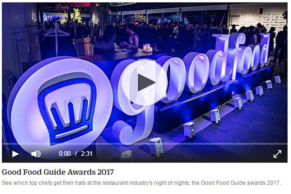 The Good Food Guide 2017 restaurant of the year is Quay. Chef of the year is…
