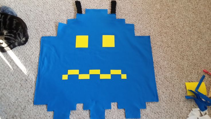 Pacman Ghost Costume (powered up)