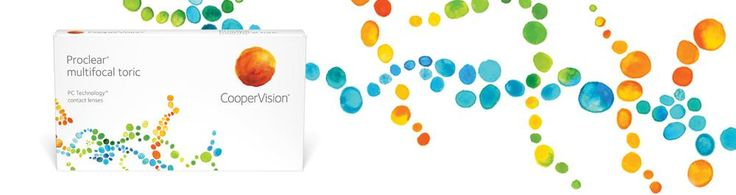 CooperVision Proclear multifocal toric lenses for astigmatism