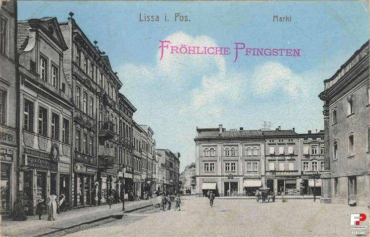 Rynek 3, Leszno - 1908 rok, stare zdjęcia