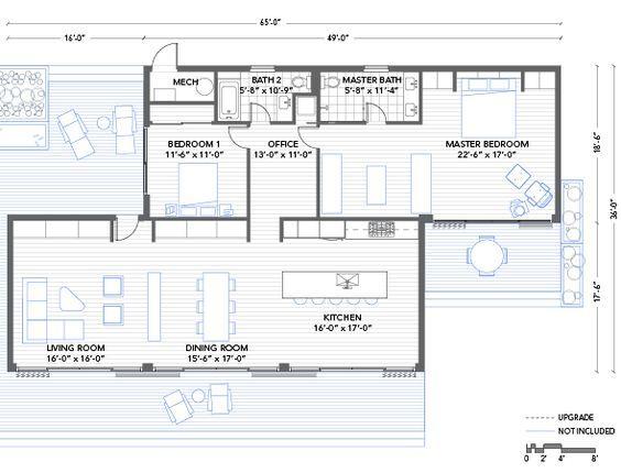 2207 best Floor Plans images on Pinterest Floor plans, House - plan maison 170 m2 plain pied